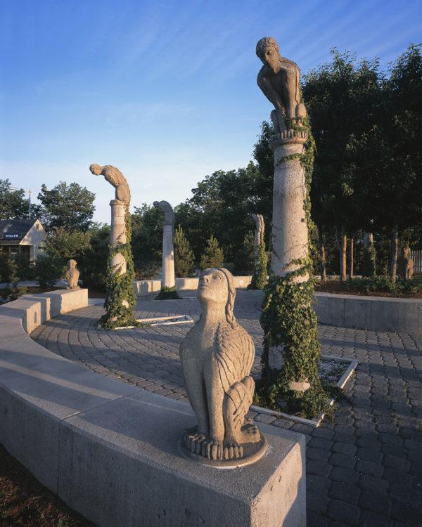 Detail of Pomerleau Neighborhood Park21